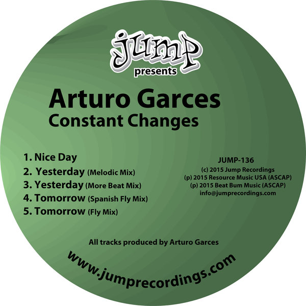 Arturo Garces - Constant Changes - Jump Recordings