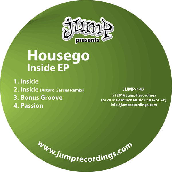 Housego - Inside EP w/ Arturo Garces Remix - Jump Recordings